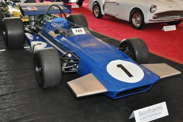 <strong>1970 March-Cosworth Formula 1 – Sold for $152,200 versus pre-sale estimate of $100,000 - $125,000. </strong>Campaigned by Tyrrell, Jackie Stewart drove chassis 701-2 to victory at Spanish Grand Prix, plus pole position at three races.