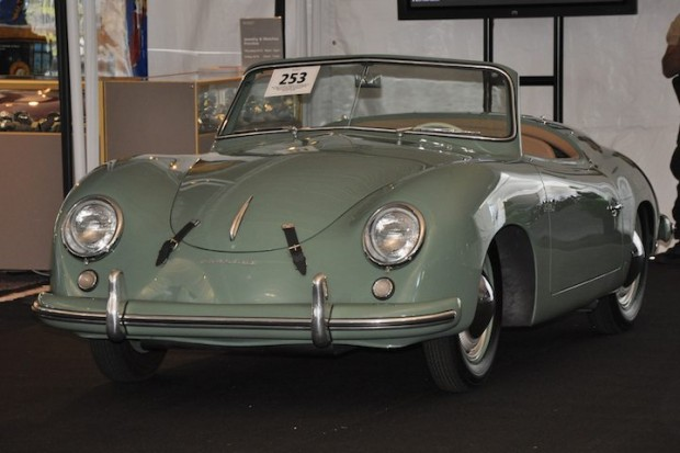 <strong>1953 Porsche Roadster Typ 540 K/9-1 – Sold for $529,500 versus pre-sale estimate of $500,000 - $650,000. </strong>Steel Sport Roadster, Ex-Brundage Motors Inc. (Brumos Porsche); finished 7th in Class and 15th Overall at 1954 Sebring 12 Hours.