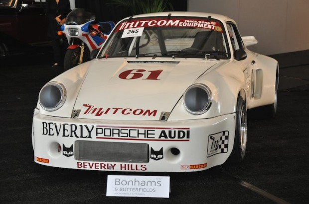 <strong>1975 Porsche 911 RSR – Did not sell versus pre-sale estimate of $425,000 - $495,000. </strong>Ex-Jim Busby and Beverly Porsche and Audi; extensive race history.