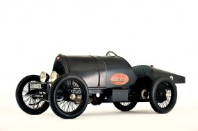 1912 5 litre chain drive Bugatti racing car