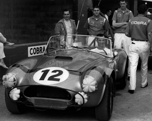 Shelby Cobra 289, Bob Bondurant, 1964 Sebring 12 Hours, Lew Spencer
