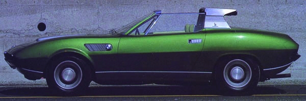 1969 BMW Spicup Bertone Coupe owned by Roland Dieteren