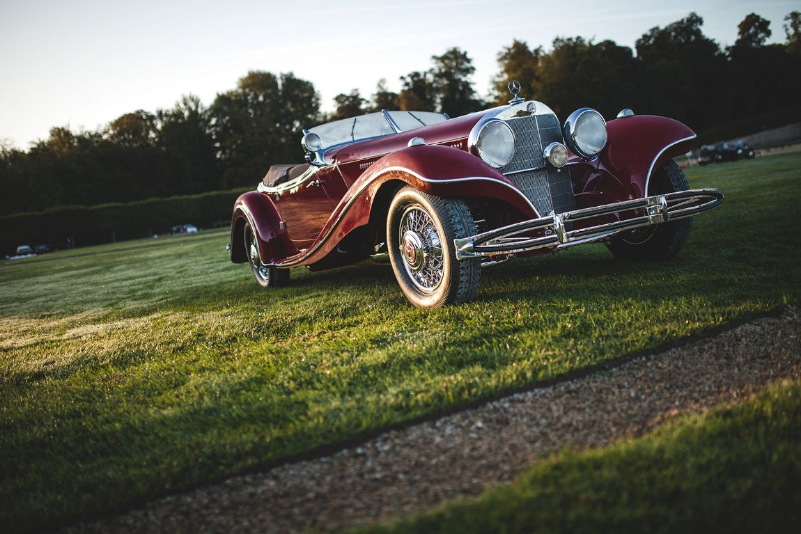 Chantilly concours d 39 elegance 2015 picture gallery for Chantilly mercedes benz