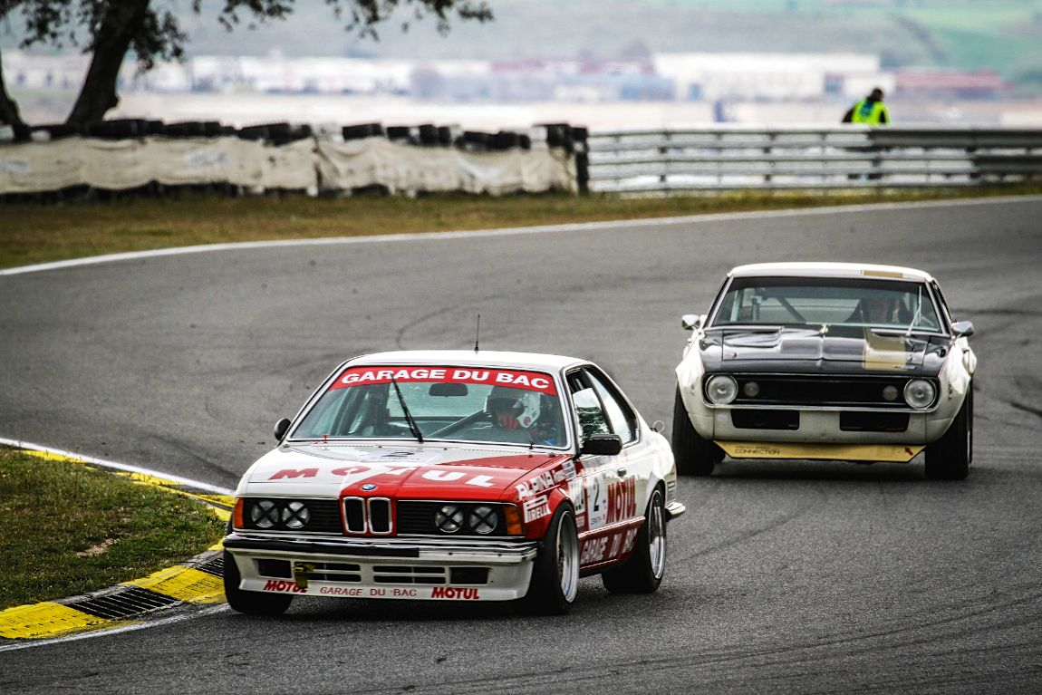 1984 BMW 635CSi in the Heritage Touring Cup class