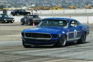 Trans-Am Mustang at Coronado Classic Speed Festival