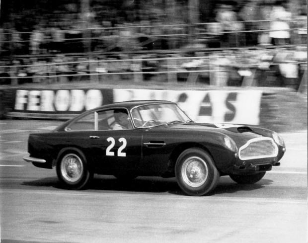 Aston Martin DB4 GT. Credit: Ted Walker, Ferret Photographics.