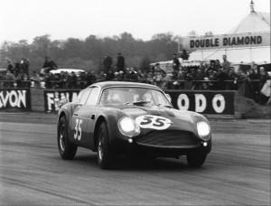 Aston Martin DB4 Zagato, will be raced by Julian and Matthew Draper. Credit: Ted Walker, Ferret Photographics.