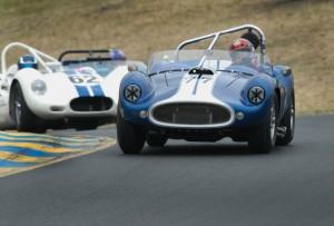 1958 Devon SS John Goodman and 1959 Lister Jaguar Michael Silverman