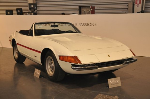 <strong>1971 Ferrari 365 GTB 4 Spyder – Estimate €880,000 - €1,100,000.</strong> Never titled at any point in its unbroken ownership history, Chassis # 14543 is one of the lowest-mileage, most original and unique Daytona Spyders in existence.