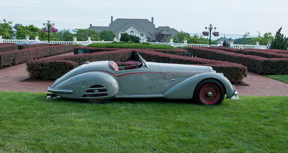 1938 Alfa Romeo 8C 2900B Spider by Touring