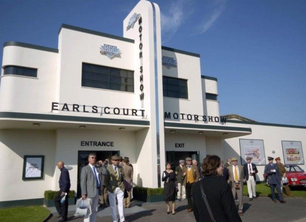 Earls Court Motor Show at Goodwood Revival