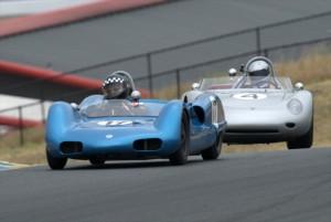 1961 Elva MK6 Tom Thinesen and 1960 Porsche RS60 Bill H. Lyon