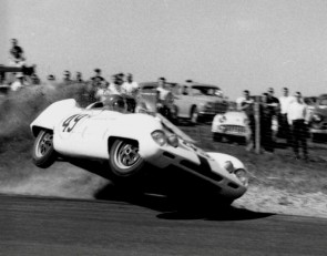 Elva Mk IV Wilmot Hills race track