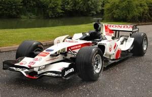 Ex-Jenson Button 2006 Honda RA106 Formula One Racing Single-Seater Chassis no. RA106-04