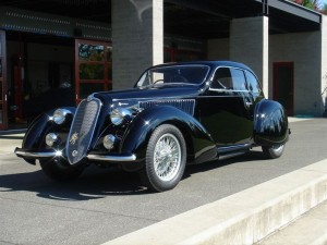 1938 Alfa Romeo 2300 B Mille Miglia will be on the field at the 2009 Fairfield County Concours d'Elegance