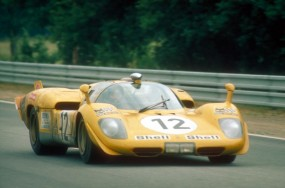 Team Ecurie Francorchamps Ferrari 512S at Le Mans 1970