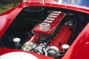 Ferrari TR 59 engine.  Photo courtesy of David N. Seielstad. All rights reserved.