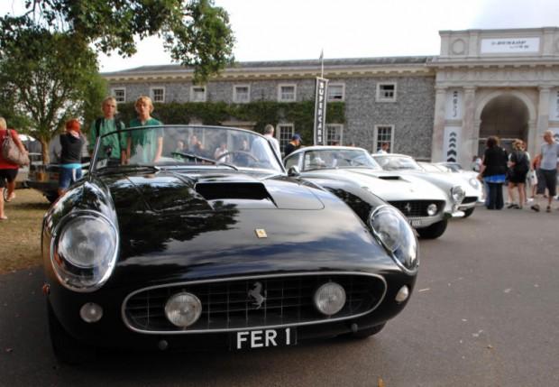 Chris Evans' collection of Ferraris, headlined by Ferrari 250 GT SWB California Spyder