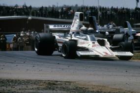Brian Redman in the Lola F5000