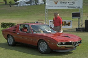 <strong>Garage Style Magazine Award for Car You'd Most Like to See in Your Garage, 1973 Alfa Romeo Montreal, Donald Reichel, Los Gatos, CA</strong>
