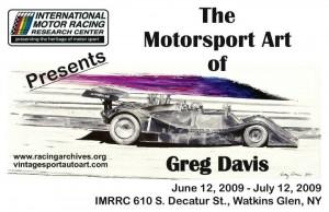 Greg Davis Art Poster