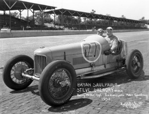 1931 Miller V16 at the Indianapolis Motor Speedway in 1932