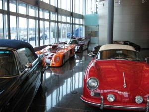 Lobby of Highcroft Racing