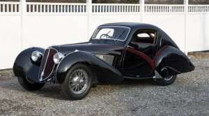 1936 Delahaye 135S Competition Court Teardrop Coupe