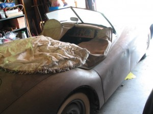 Barn Find Jaguar XK120