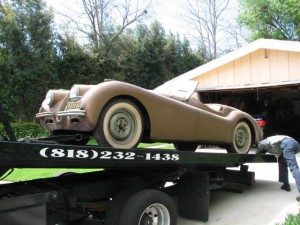 Barn Find Jaguar XK120