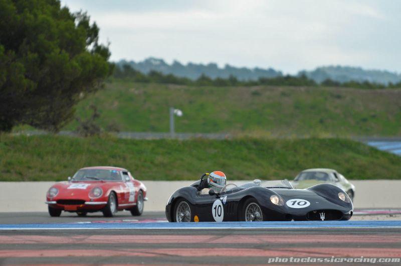 1957 Maserati 250S and Ferrari 275 GTB