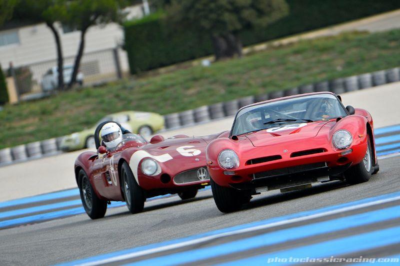 1965 Bizzarrini 5300 GT and 1955 Maserati 300S