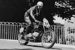 Jock West at the 1939 Isle of Man Senior Tourist Trophy