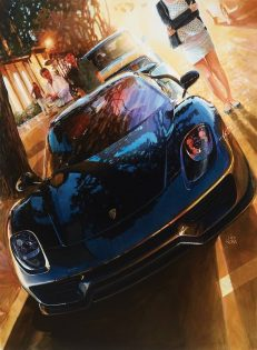 "Jay Koka's newest work, entitled ""918 on Ocean"""