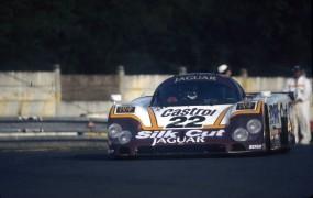Silk Cut TWR Jaguar at Le Mans 1980