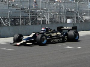 Mario Andretti driving the Lotus 79