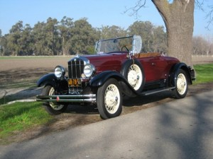 1929 Durant will take part in the inaugural Marin Sonoma Concours d'Elegance