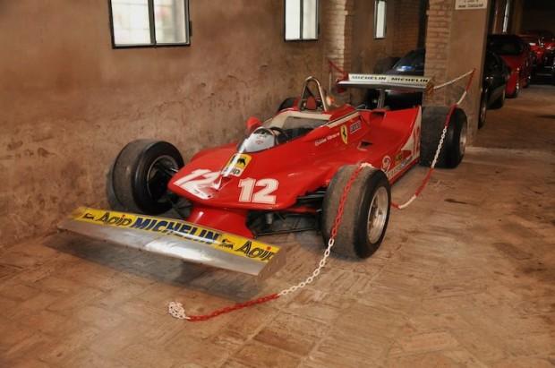 Gilles Villeneuve Ferrari 312 T4