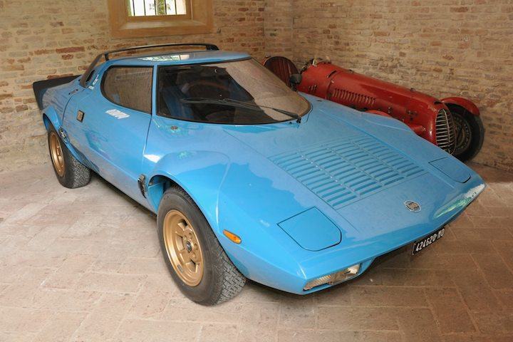 Lancia Stratos At Mario Righini Collection Sports Car Digest