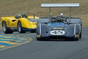 1968 McLeagle McLaren M6B Andy Boone and 1968 McLaren M6B Steve Cook