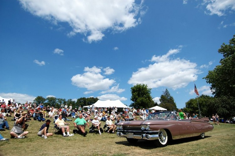 1959 Cadillac at Meadow Brook Concours
