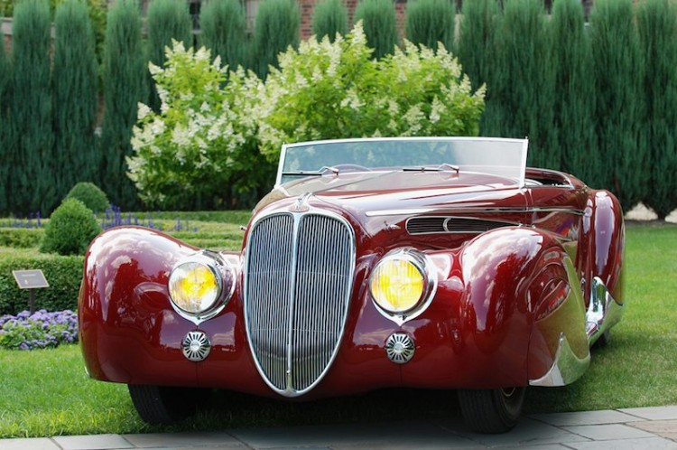 2009 Best of Show Winner at Meadow Brook Concours d'Elegance: 1939 Delahaye 165 Cabriolet by Figoni et Falaschi