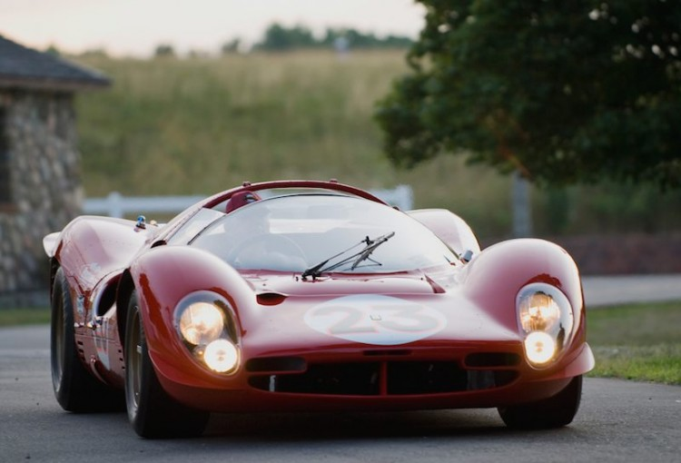 1967 Ferrari P3/4 (Chassis 0846) at Meadow Brook Concours d'Elegance
