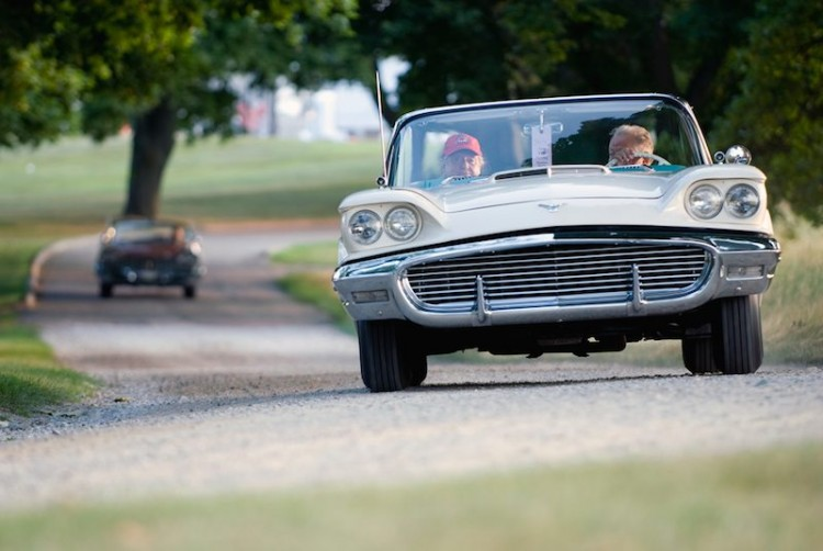 1958 Ford Thunderbird at Meadow Brook Concours