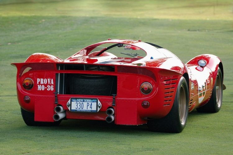 1967 Ferrari P3/4 (Chassis 0846) at Meadow Brook Concours