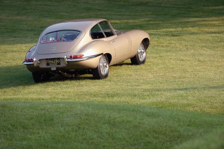 Jaguar E-Type Coupe at Meadow Brook Concours d'Elegance