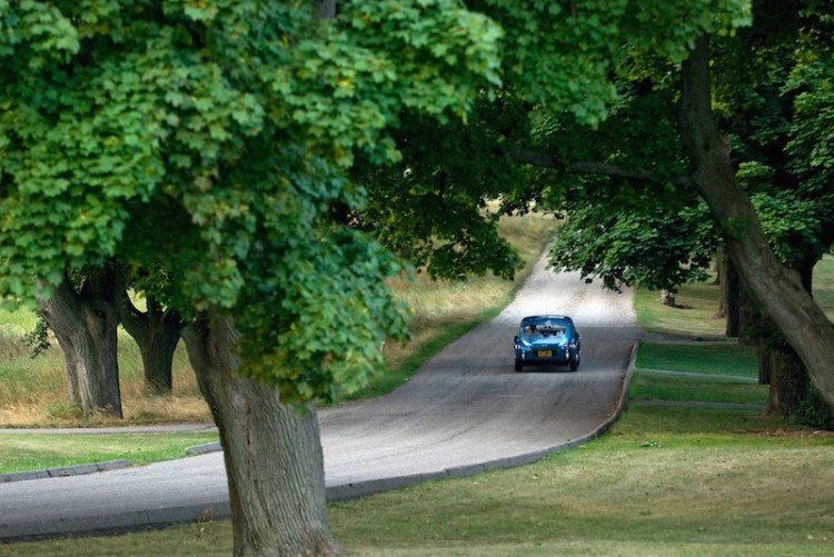 AC Aceca heads home after Meadow Brook Concours