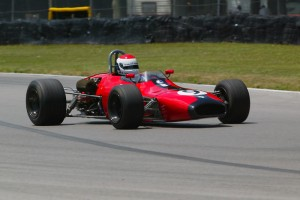 Bobby Rahal races his Brabham BT29 in the Mid-Ohio Vintage Grand Prix