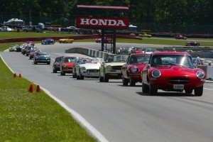 Parade at the Mid-Ohio Vintage Grand Prix