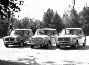 Mini 1275 GT, Mini 1000 and Mini Clubman, 1973
